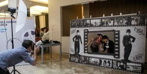Фото 4. Тантамареска в виде афиши черно-белого кино